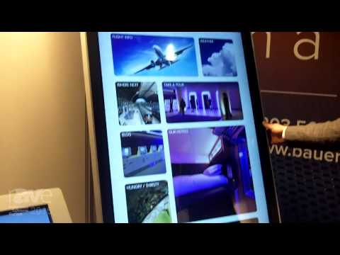 ISE 2015: Bauer Digital Shows Touch Table with IR Touch