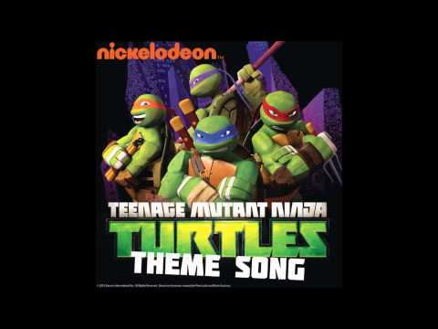 Teenage Mutant Ninja Turtles - Theme Song (NO BACKGROUND NOISE)