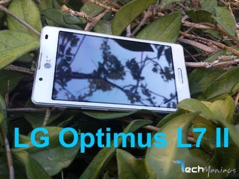LG Optimus L7 II Hands on Review [Greek]
