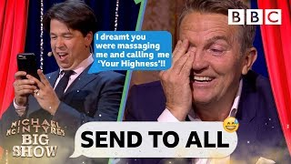 Bradley Walsh DESTROYED 😱 by Michael's nightmare text - Send To All