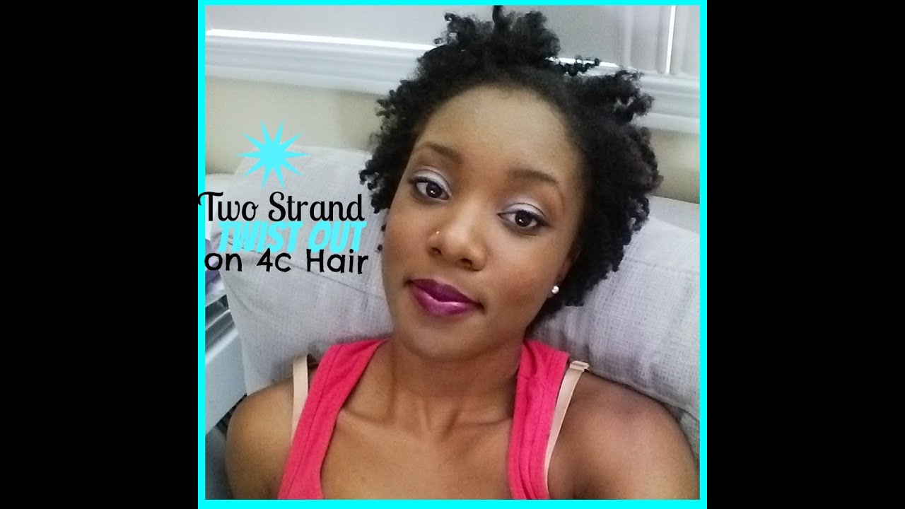 Pure Hair Twist Out On 4c Hair