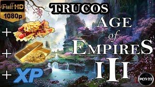 TRUCOS Y CHEATS DE RECURSOS ILIMITADOS AGE OF EMPIRES III -PCG 22-