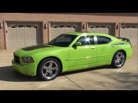 2007 Dodge Charger Rt Daytona Sub Lime Green Hemi For Sale