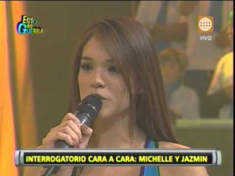 Esto es Guerra: Jazmín Pinedo a Michelle: Sí me gusta Gino Assereto - 04/07/2013