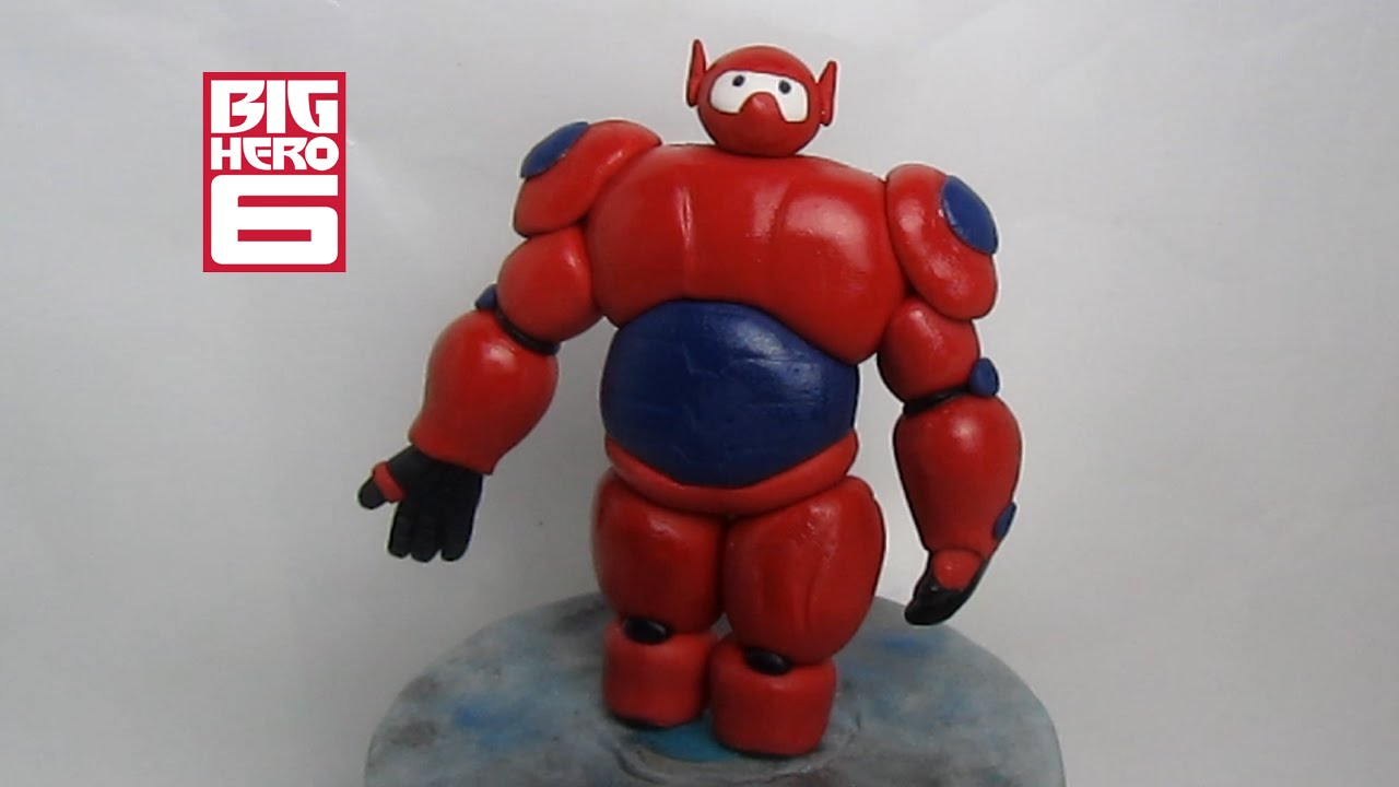 How To Make Big Hero  Baymax Cake Topper