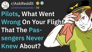 When Pilots Messed Up Badly But Noone Noticed (r/AskReddit)