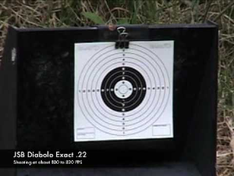 Benjamin Discovery Accuracy testing 25 yards.
