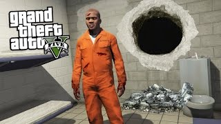 PRISON BREAK & ESCAPE!! (GTA 5 Mods)