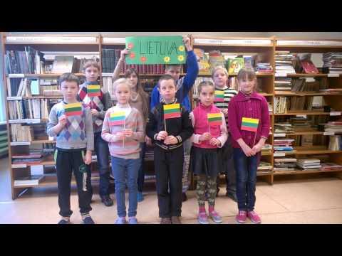 Sveikinimai Lietuvai ir Šilutei