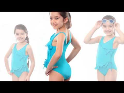 images of kids swimwear fashion show