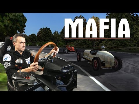 Реальный гонщик против MAFIA: ТА САМАЯ гонка на руле