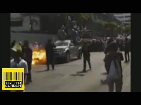 Bangkok bomb blast caught on camera  – Truthloader