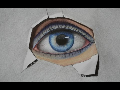 How to Draw an Eye with Color Pencils and Pastels