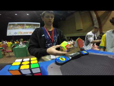 5x5 Rubik's Cube World Record: 38.52