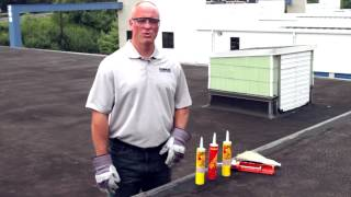 Roof leak repair with Karnak 19Ultra and 19 Caulk