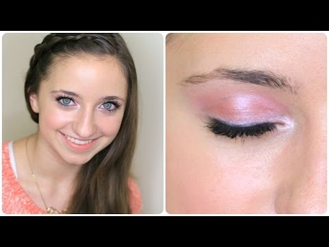 beginner valentine's day makeup tutorial  brooklyn and