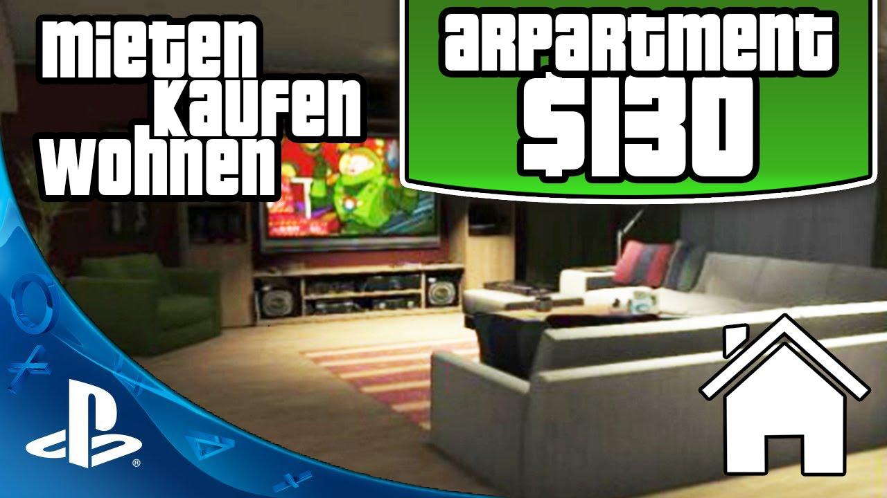 gta 5 online mieten kaufen wohnen 130k apartment tour. Black Bedroom Furniture Sets. Home Design Ideas