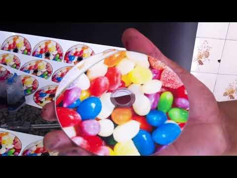 Epson T50 adaptada para imprimir 5 CDs/DVDS. Como imprimir CD mais rápido na T50.