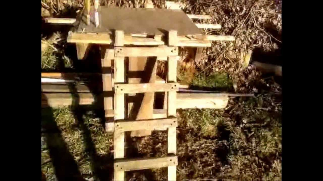 Cabane youtube for Cabane simple a construire
