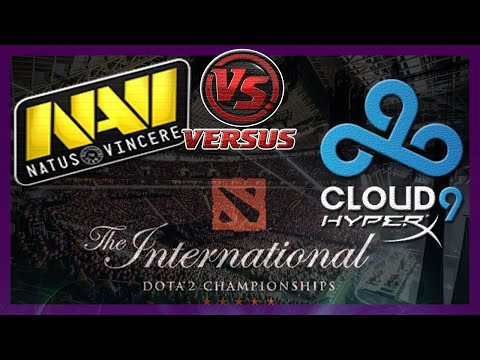 NaVi vs C9 bo1 International 2014 Dota 2 #ti4 RUS