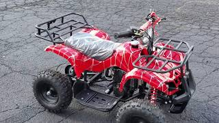 50cc Kids Atv Gas Powered Four Wheeler Quad Fully Automatic For Sale From SaferWholesale.com