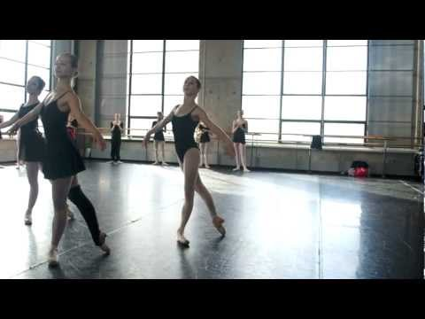 Ellison Ballet Intermediate Summer Intensive 2012 NYC Robbie Age 13
