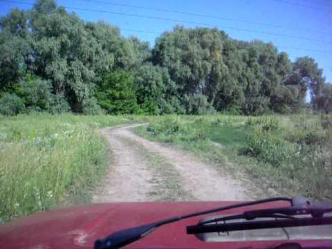 Проезд к Десне через Осещину.AVI