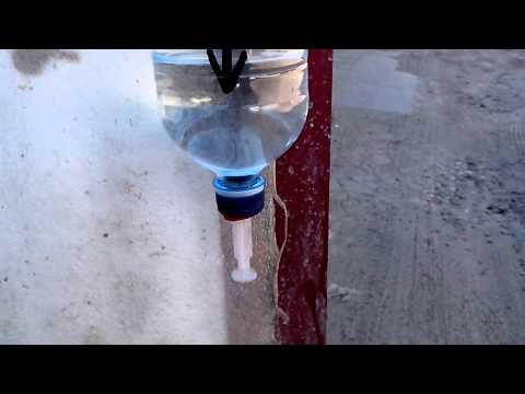 Видео как сделать умывальник из бутылки - Хобби и увлечения