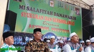 "Gema Sholawat ""MI Salafiyah Danawarih"" Balapulang bersama Asyiqol Mustofa Pekalongan"