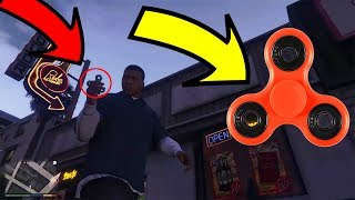FIDGET SPINNER NO GTA V