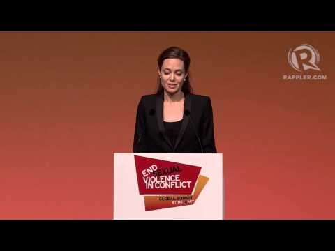 Jolie: We have not done enough to stop warzone rape