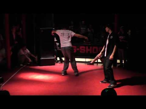 GUCCHON vs JENES BEST8 FREESTYLE 【WDC 2014】 thumbnail