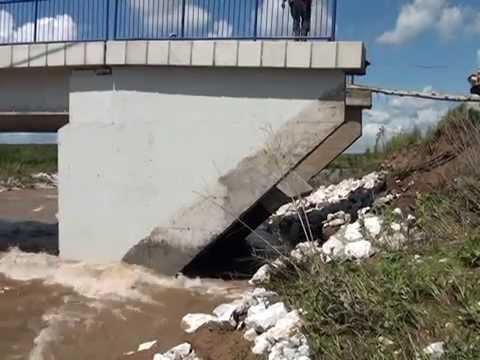 Mostovi unisteni u poplavama - Opstina  Petrovac na Mlavi
