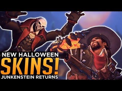 Overwatch: NEW Halloween SKINS! - Van Helsing McCree & Reaper Skin!