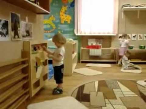Детский сад монтессори от 1,5 до 3 лет