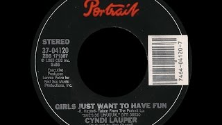 Cyndi Lauper ~ Girls Just Want To Have Fun 1983 Disco Purrfection Version