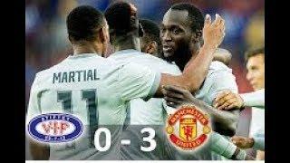 Manchester United  vs Vaalerenga   First Half Full Match Friendly 2017