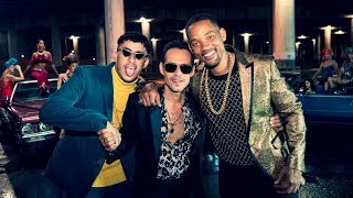 Marc Anthony Will Smith Bad Bunny Está Rico Detrás De Cámara