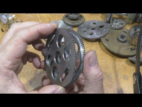 Безлюфтовые  шестеренки и прочий металлолом.