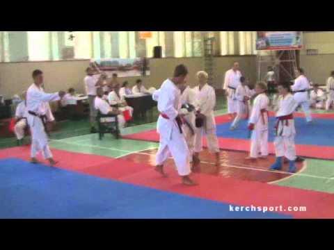 1 этап Кубка Украины по каратэ (версия fska) г. Керчь 24.07.wmv