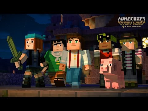 Juegos-Minecraft: Story Mode [Minecon 2015 Trailer]