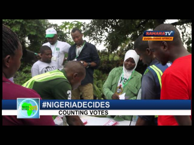 #NIGERIADECIDES-counting of Votes 1