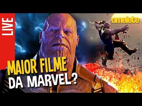 Guerra Infinita. O maior filme da Marvel   OmeleTV AO VIVO