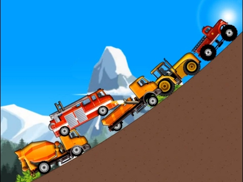 Police Car & Fire Truck, Ambulance, Monster truck - Trucks and Cars for kids