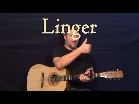 Linger (THE CRANBERRIES) Easy Strum Guitar How to Play Lesson  - G A C D
