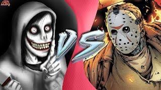 JEFF THE KILLER vs JASON VOORHEES (Jason vs CreepyPasta Animation) | CARTOON FIGHT CLUB