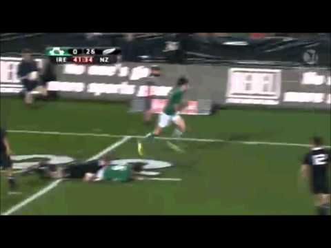 New Zealand v Ireland 3rd Test | June Internationals Rugby Highlights 2012