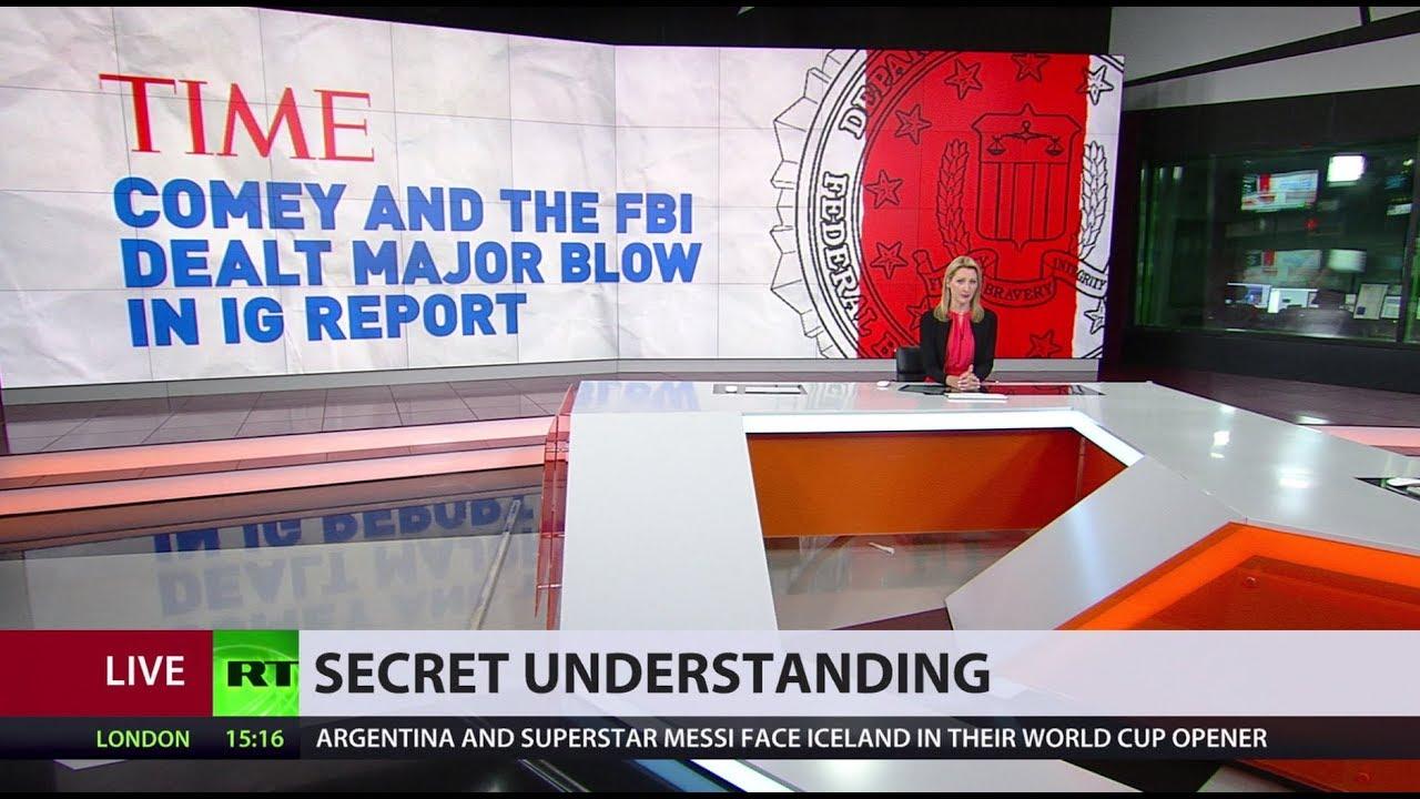 DOJ report reveals cases of collusion between media & FBI