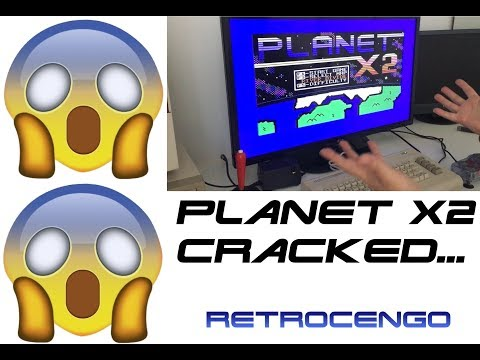 Planet X2 for the Commodore 64 CRACKED!!!