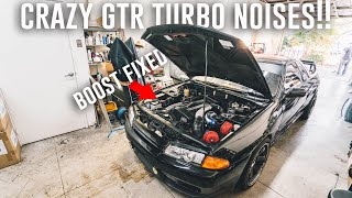 We Fixed the MAJOR Boost Issue with the Skyline GTR! *HKS Racing Suction Intake Install*